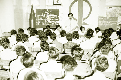 Addressing the delegates at the 1st DAP Youth congress in 1973