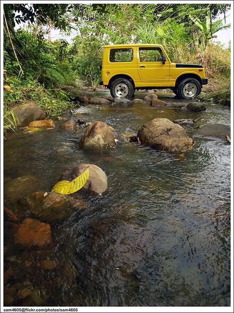 Suzuki SJ410 & Sungai Longkoidon