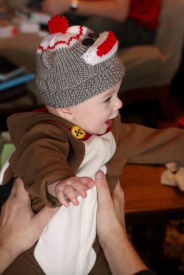 Sock Monkey Hat - 3