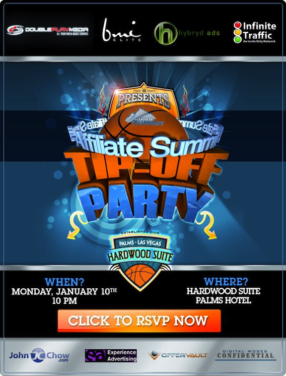 Affiliate Summit Tip Off Party