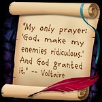 Voltaire's only prayer