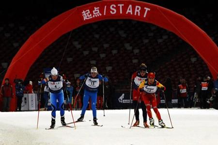 Tour de Ski Čína - Zatím druhá liga, ale na olympijském stadionu!