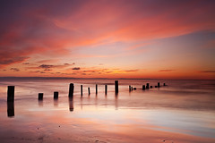 Berrow Sands (peterspencer49) Tags: ocean longexposure greatbritain light sunset england seascape southwest beach clouds evening coast unitedkingdom somerset coastline seaview coastalpath westcountry southwestcoast brean southwestcoastalpath berrow stunningview seascene oceanveiw cliffwalks 5dmkll stunningseascape
