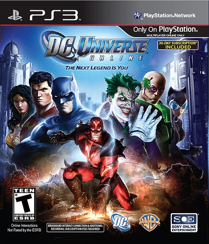 DC Universe Online for PS3