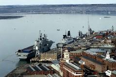 Naval Dockyard (Stan160) Tags: tower nikon portsmouth nikkor spinnaker naval ai dockyard c200 fujicolor fm2n 10525