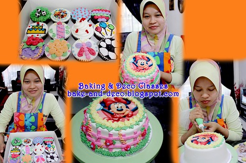 Batch 25 Nov: Combo A - Basic Buttercream Cake & Cupcakes