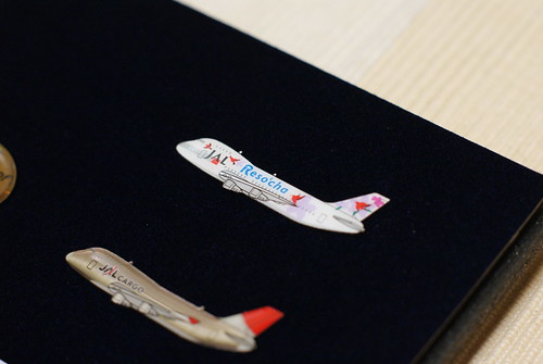〈JAL 747family〉メモリアルピンズセット
