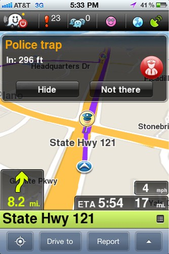 how to turn off waze on iphone
