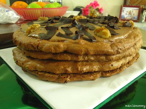 date and walnut dacquoise