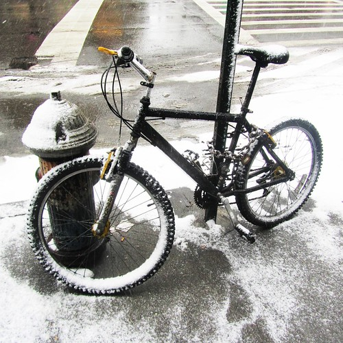 DAY 560: SECOND SNOW BIKE