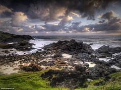 Tacking Point, Port Macquarie, NSW (Tim Sanusi) Tags: beach clouds sunrise nsw nd hdr rockybeach portmacquarie polariser lighthousebeach tackingpoint