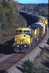 CNW 8719 (binsiff) Tags: lake electric wisconsin general north ge prema cnw c409w