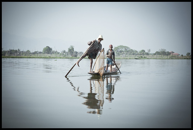 two fisherman