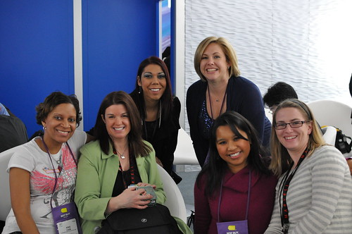 Women's Blogger Meetup at Intel Booth