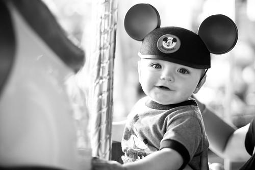 Noah's First Disneyland Trip 4