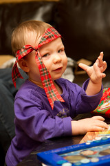 Nol cossais (Kimord) Tags: christmas family famille party portrait baby canon kid child newyear 7d fte nol enfant bb victoriaville jourdelan canon7d kimdupont kimord