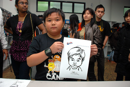 Caricature live sketching for Snow City - Day 8 - 17