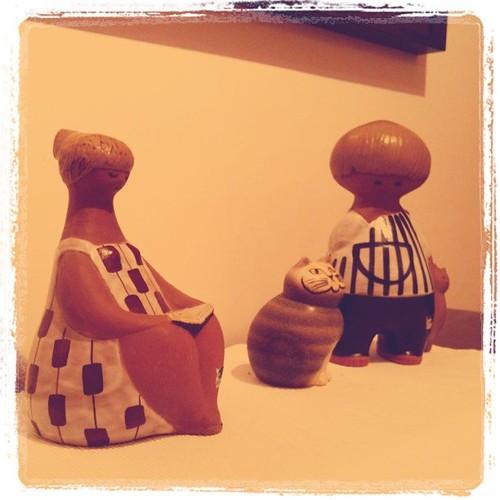 Min Lisa Larsson-samling. Två är gamla, en är ny.
