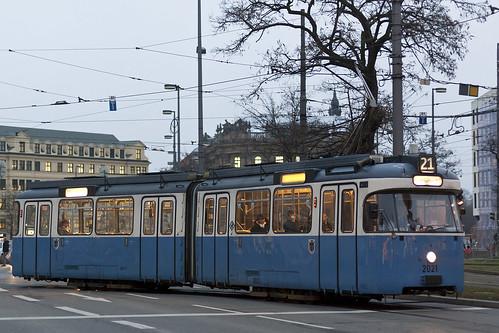 2021 im Wendegleis am Karlsplatz (Stachus)