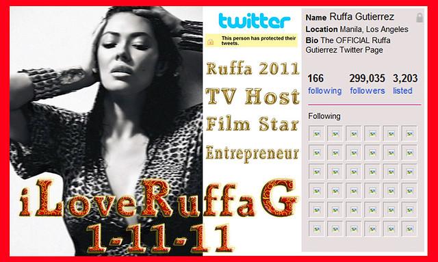 Ruffa Gutierrez iLoveRuffaG Twitter 11JAN2011 by RuffaStar