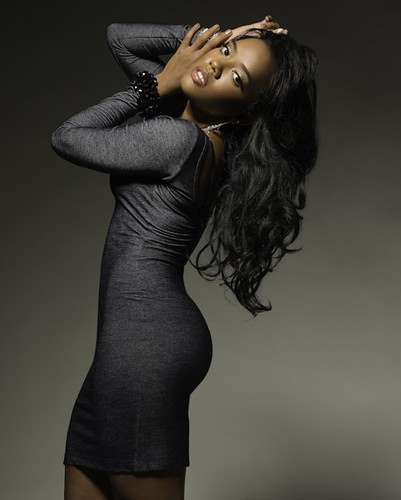 Angela Simmons Derek Blanks Photoshoot