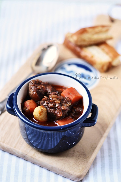 Beef stew cup