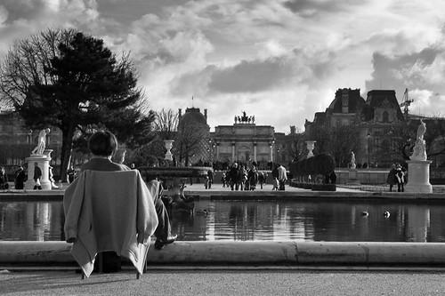Un dimanche aux Tuileries - Le temps de vivre.