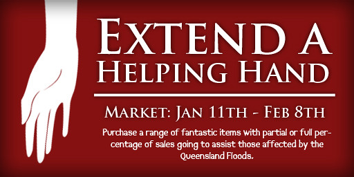 UPDATED Extend a Helping Hand Market Sign