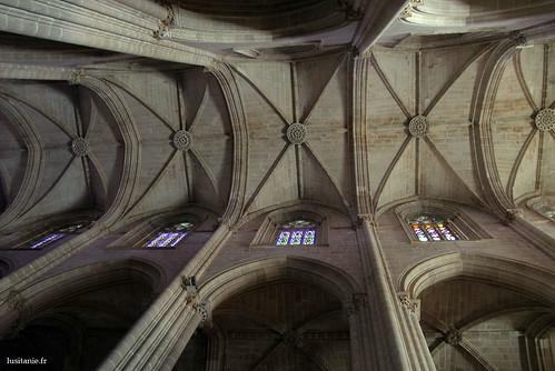 é preciso levantar os olhos para desfrutar de toda a beleza do Gotico