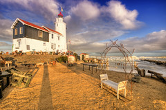Paard van Marken (Marco.nl) Tags: lighthouse ice beach hdr marken 3xp photomatrix paardvanmarken pscs5