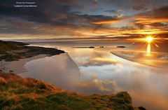 Sunrise Reflections - Dumfries and Galloway Life February 2012 (.Brian Kerr Photography.) Tags: seascape sunrise reflections landscape scotland lakedistrict warmth castlepoint dumfriesgalloway wintersun
