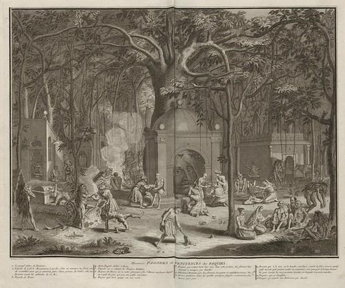 Diverses Pagodes ou Penitences des Faquirs (V. 6)