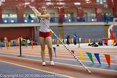 NCAA Pole Vault (n8xd) Tags: girls college sports field female jump sand women long university track elizabeth action michigan indoor womens best dirt ncaa collegiate 2010 longjump saginaw glvc willford gliac d3s microwavephoto