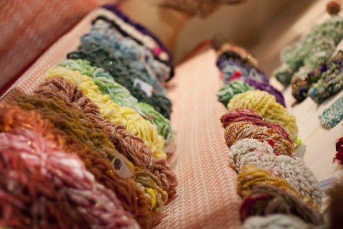 knit collage yarn