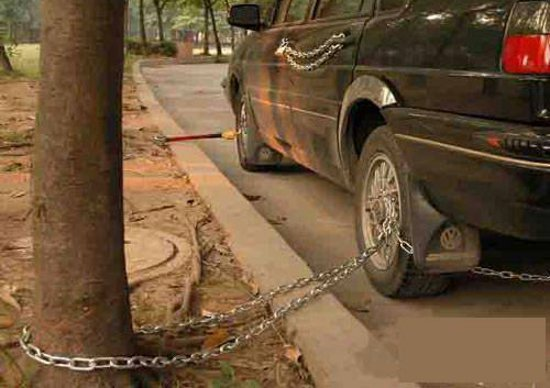 Black Car Lock Fail