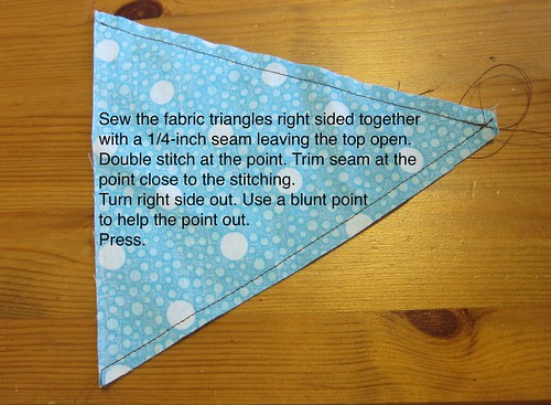 Iron Craft Challenge 3 - Appliqued Bunting