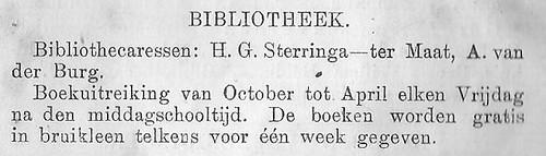 bibliotheekholten 1926