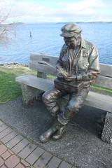grass on statue