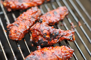 Habanero Barbecue Wings