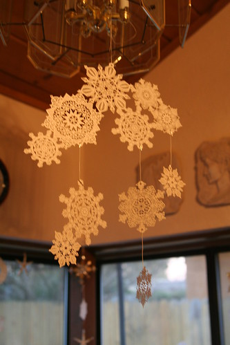 Snowflake Mobile: Gift from a Friend