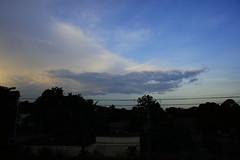 The Spacecraft. (@NBFleur) Tags: blue sunset sky cloud nature beauty azul sony natureza cu bleu contraste beleza alpha nuvem 16mm spacecraft espaonave sonynex3 nbfleur