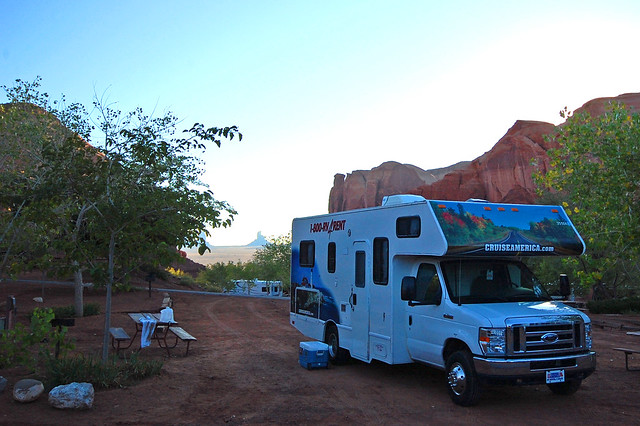 goulding's campground - monument valley
