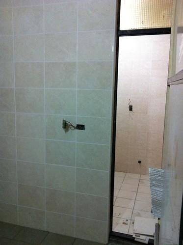 施工第十二天-廚房,廁所