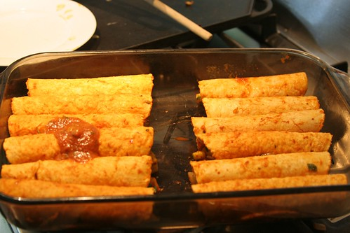 enchiladas rolled