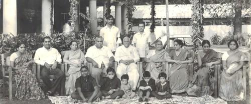 Pedatha with her father President V V Giri & family