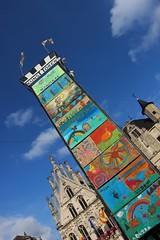 Uit zonder Uitlaat (mechelenblogt_jan) Tags: uitzonderuitlaat mechelen mechelenmondiaal grotemarkt stadhuis