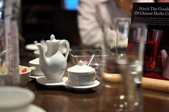Like to have a cup of tea? (Phani.Kumar) Tags: cup glass 35mm table lunch nikon dof tea bokeh pot f18 d90