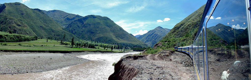 View from Peru Rail's Andean Explorer