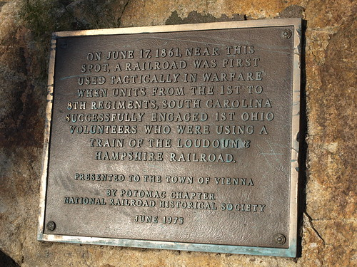 Battle of Vienna plaque