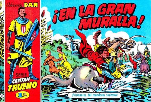 029-El capitan trueno portada nº 16- 1956